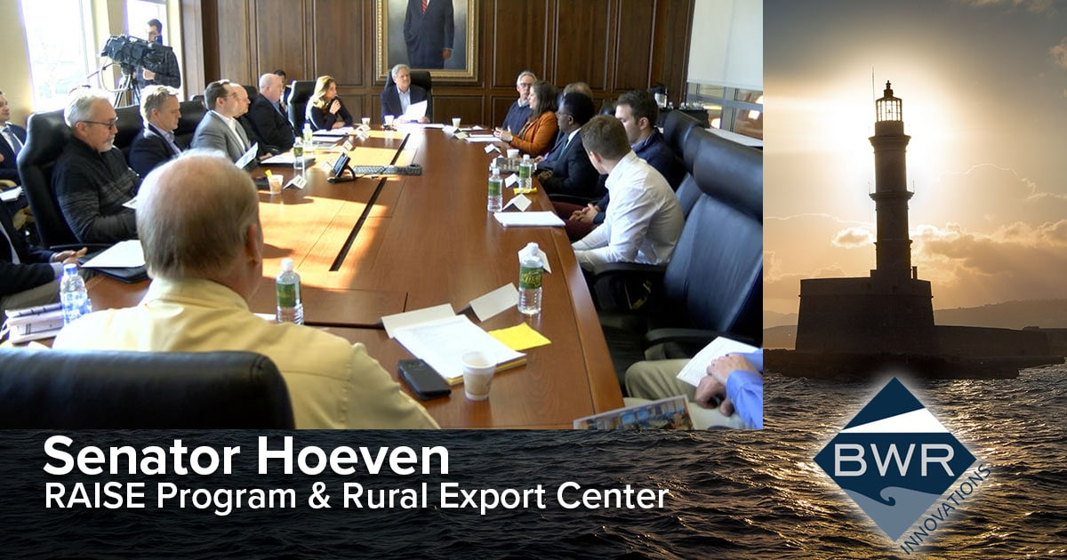 Senator John Hoeven discusses the RAISE Program with rural business leaders