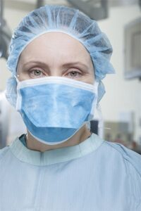 Medical doctor wearing PPE