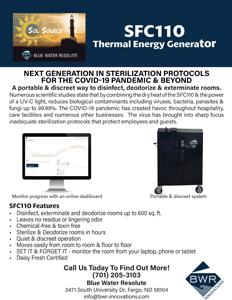 SFC110 - Thermal Energy & UV-C Light Portable Generator PDF handout