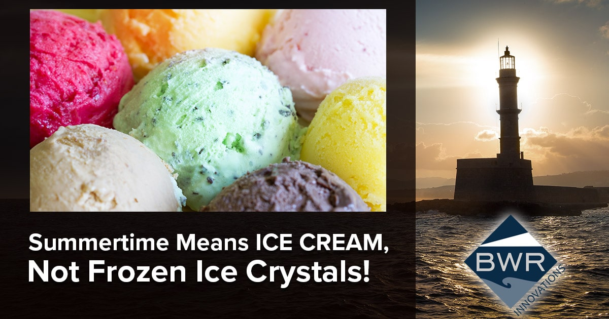 Summertime Means ICE CREAM, Not Frozen Ice Crystals! Ice cream machine temperature monitoring