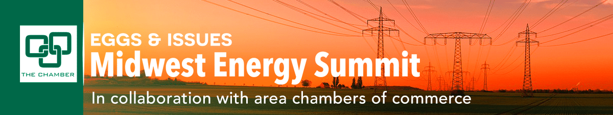 Eggs & Issues: Midwest Energy Summit logo