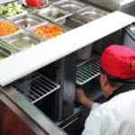 Monitor your refrigerated prep table